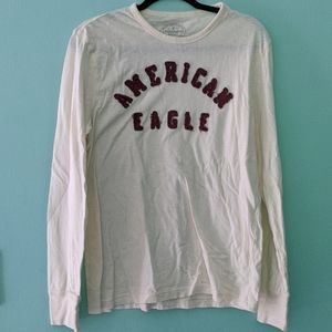 American Eagle Long Sleeve Athletic Fit Shirt